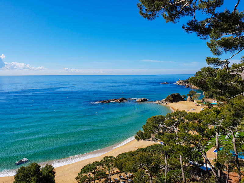 Best Costa Brava Beaches - Hotel Santa Marta