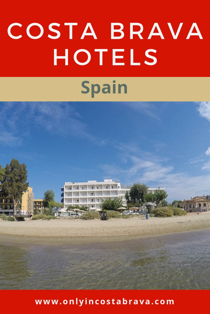 Costa Brava Hotels and Accommodations: Only in Costa Brava helps you chose the best hotels for your Costa Brava holiday at every budget | #Girona #CostaBrava #Spain #Catalonia #Travel #Hotels