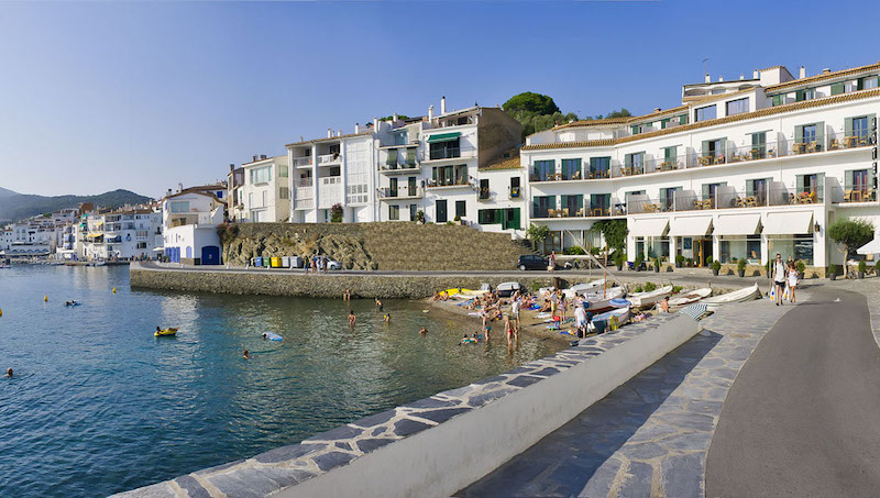 Hotel Playa Sol on Cadaques Beach