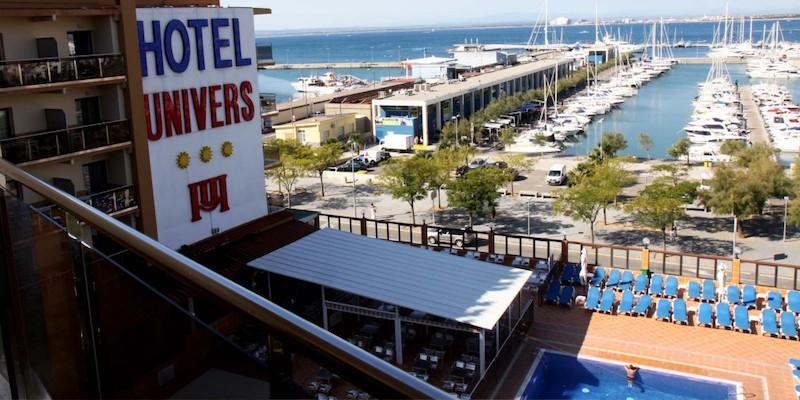 Hotel Univers Roses Spain Costa Brava